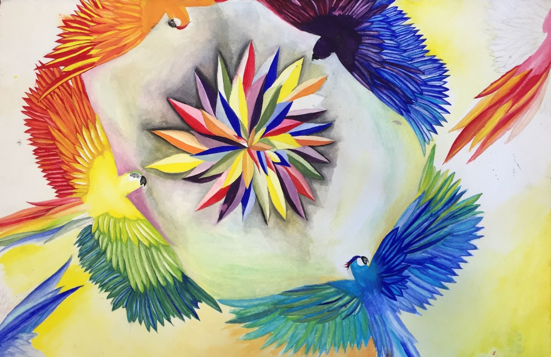 Color Wheel Metamorphosis Day 1 Intro Project Practice Color
